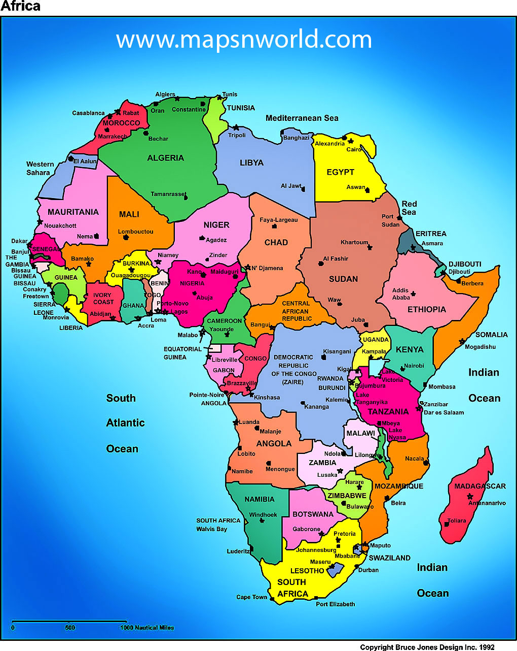 Current Map Of Africa Countries.Current Bible Countries Map