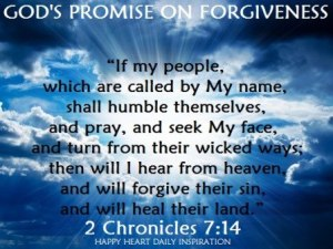 forgiveness God's promise